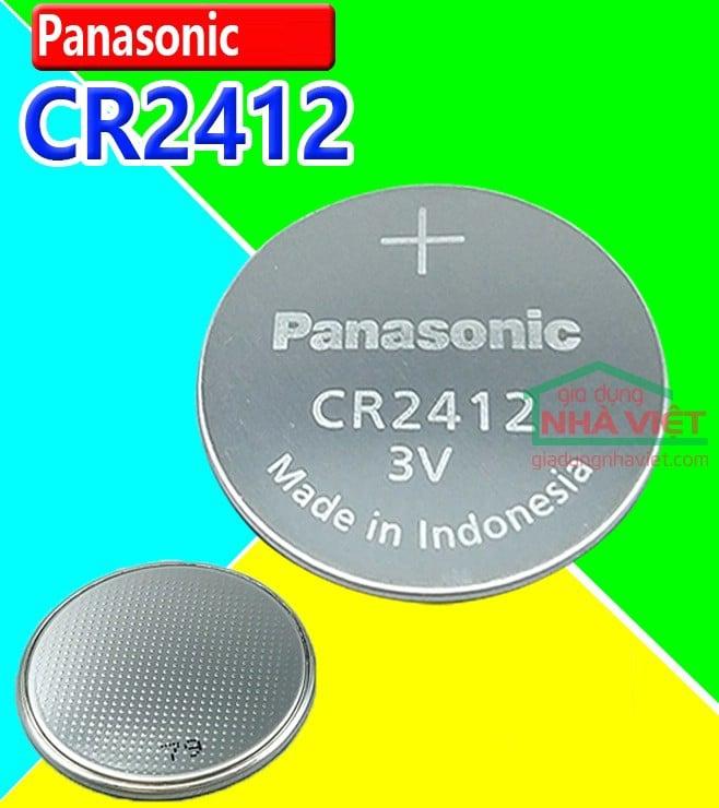 57435a2c Pin cúc áo Panasonic CR2412 - Gia Dụng Nhà Việt