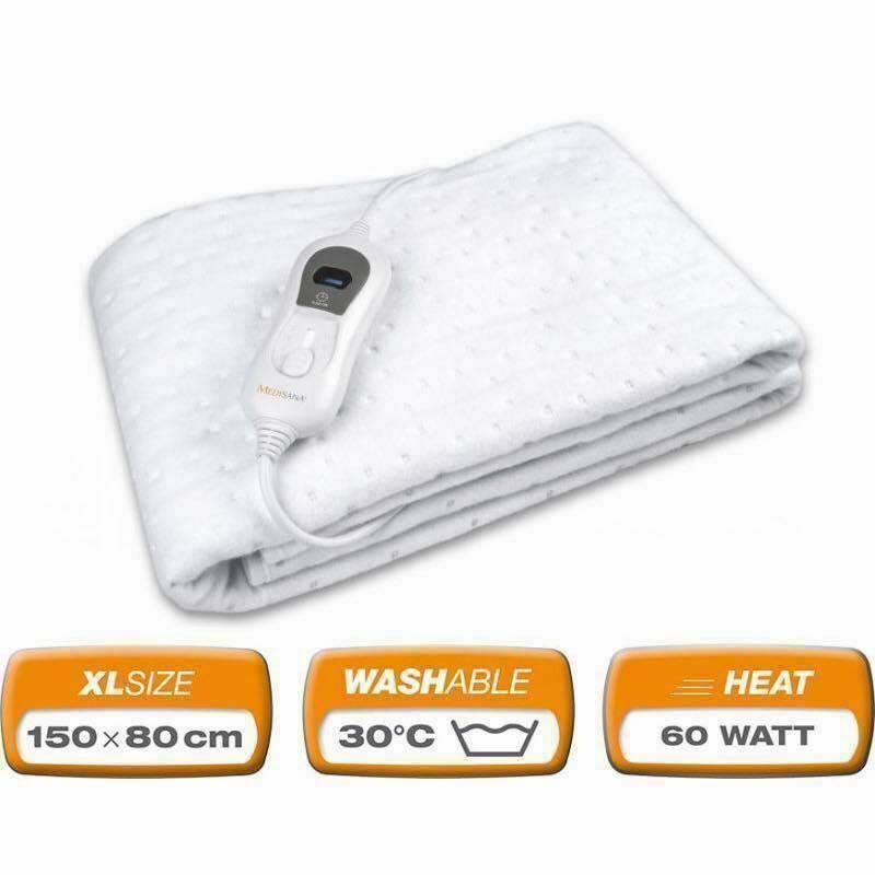 Đệm điện sưởi ấm Medisana HU665 màu trắng - hàng nội địa Đức - Gia Dụng Nhà  Việt