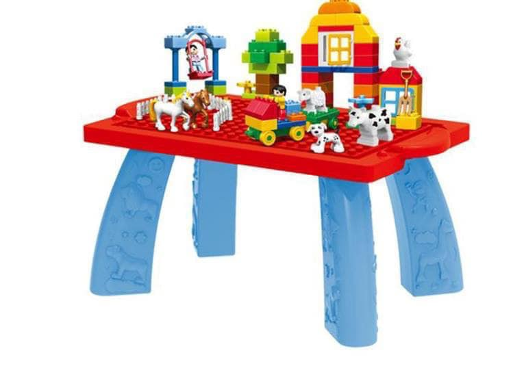 Hộp đồ chơi lego duplo loại miếng to - Gia Dụng Nhà Việt
